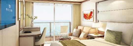 Deluxe καμπίνα με μπαλκόνι