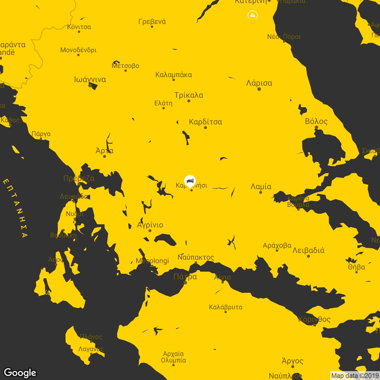 karpenisi map