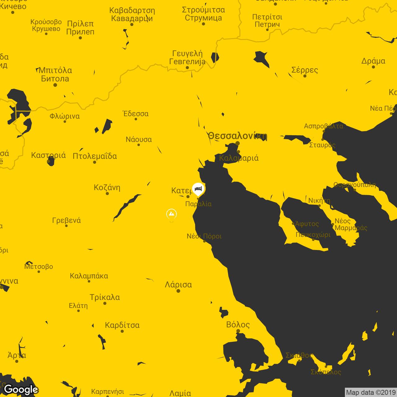 katerini map
