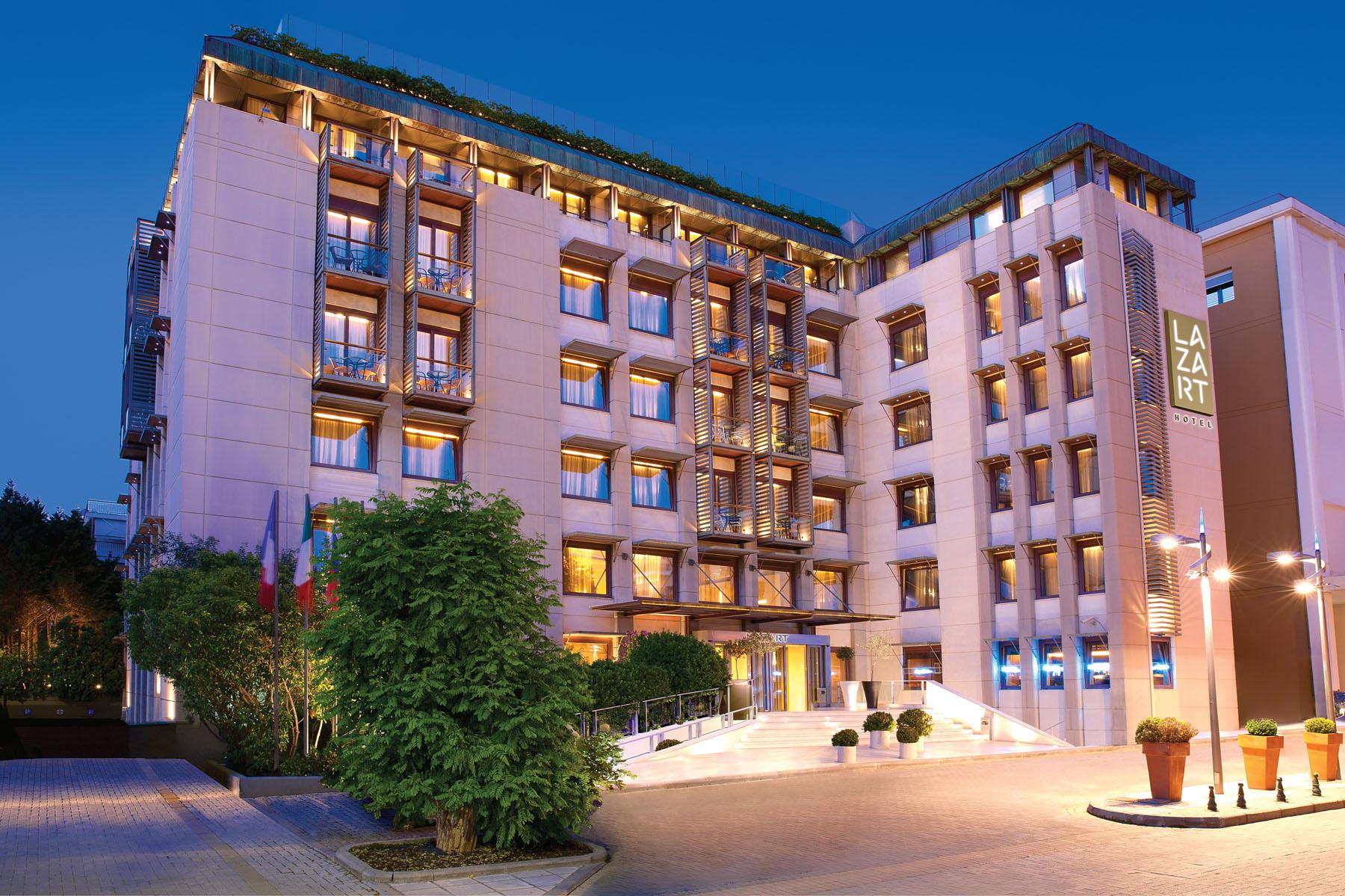 lazart hotel exterior