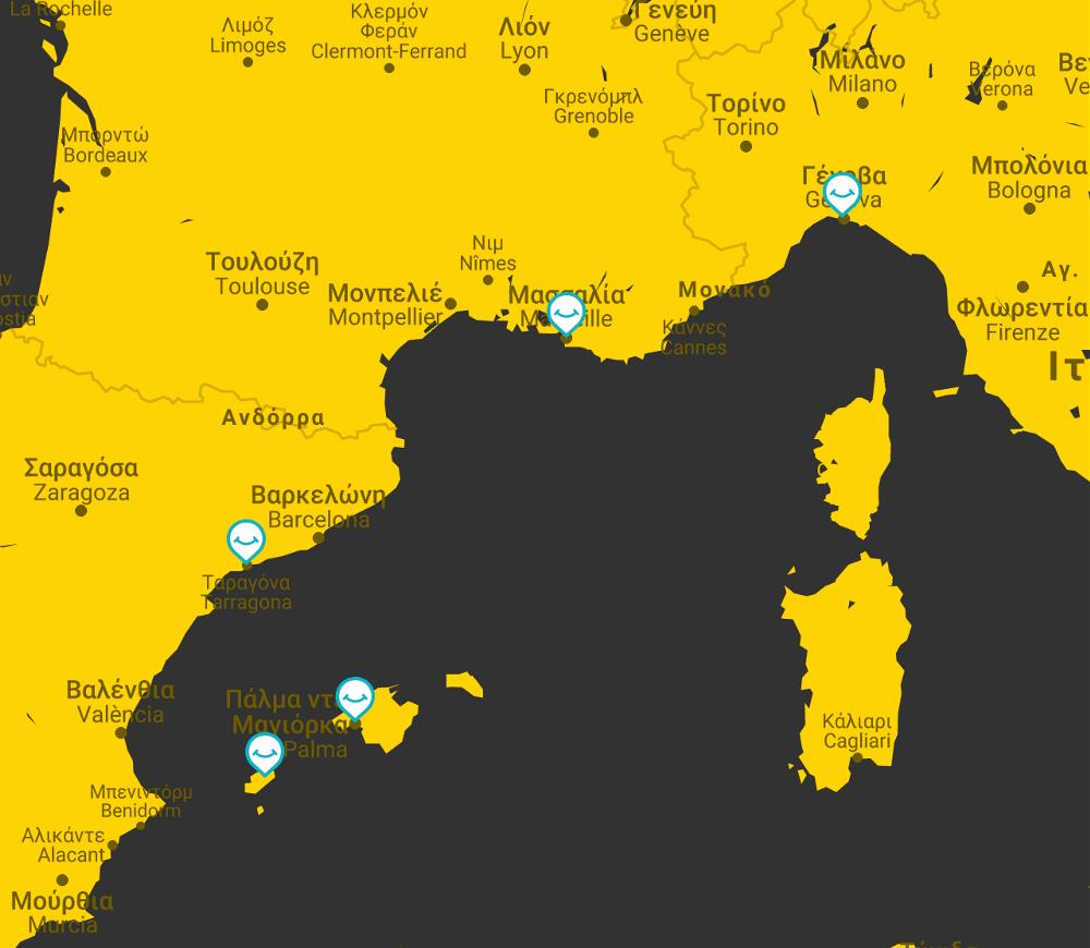 Italia Gallia Ispania