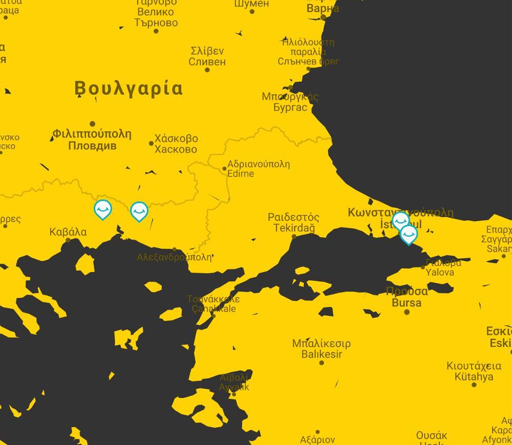 kwnstantinoupoli map