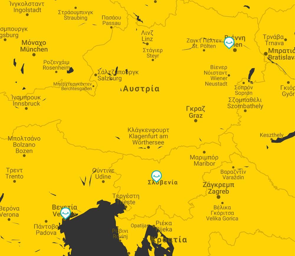 map slovenia