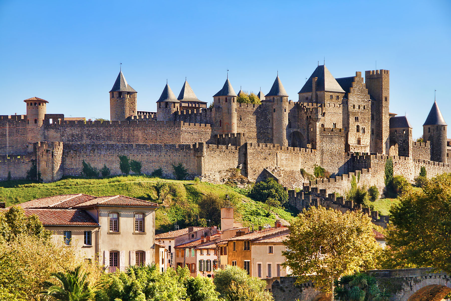 France-Castle of Carcassonne_168186269
