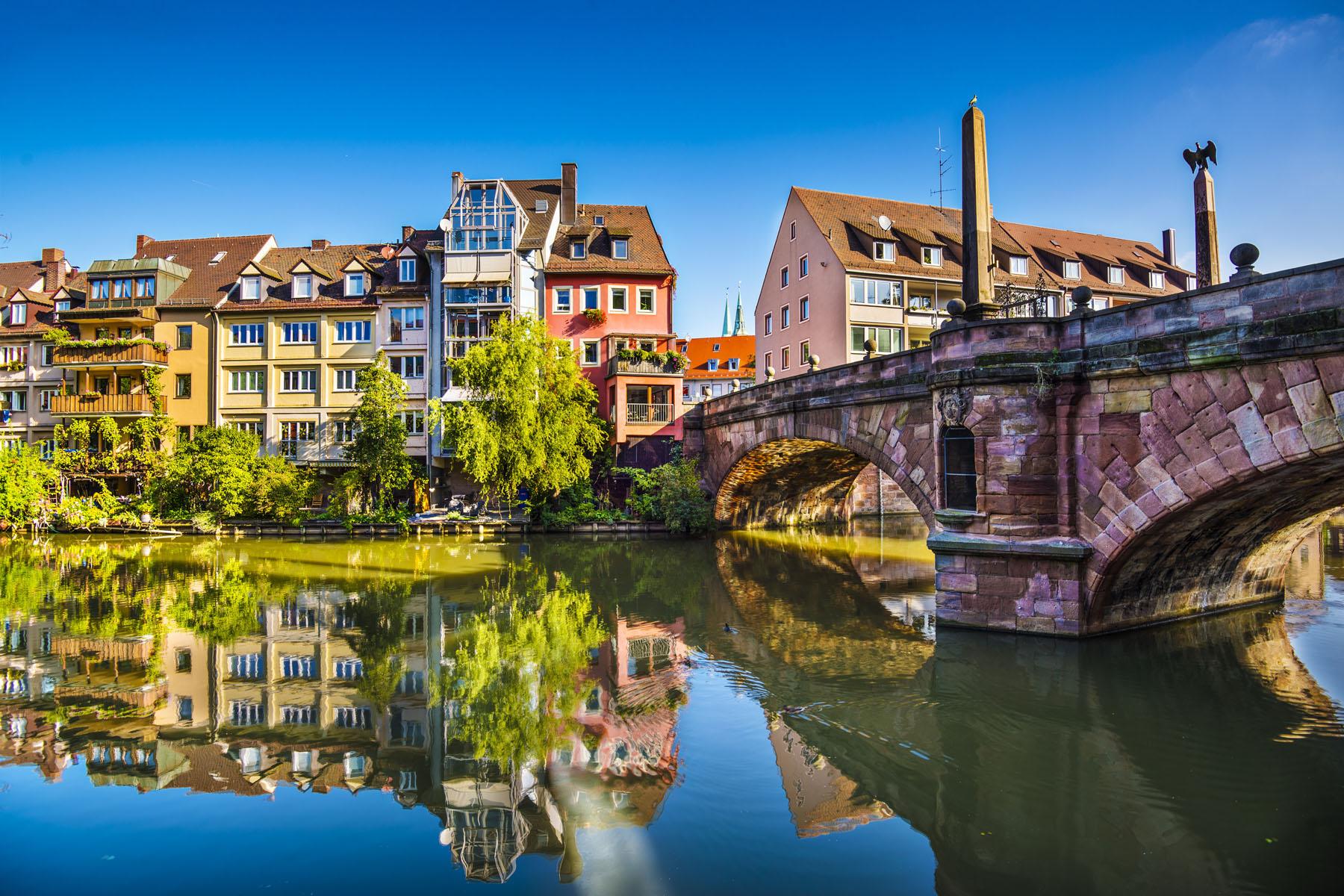 Germany-Nuremberg-Pegnitz River_168736211