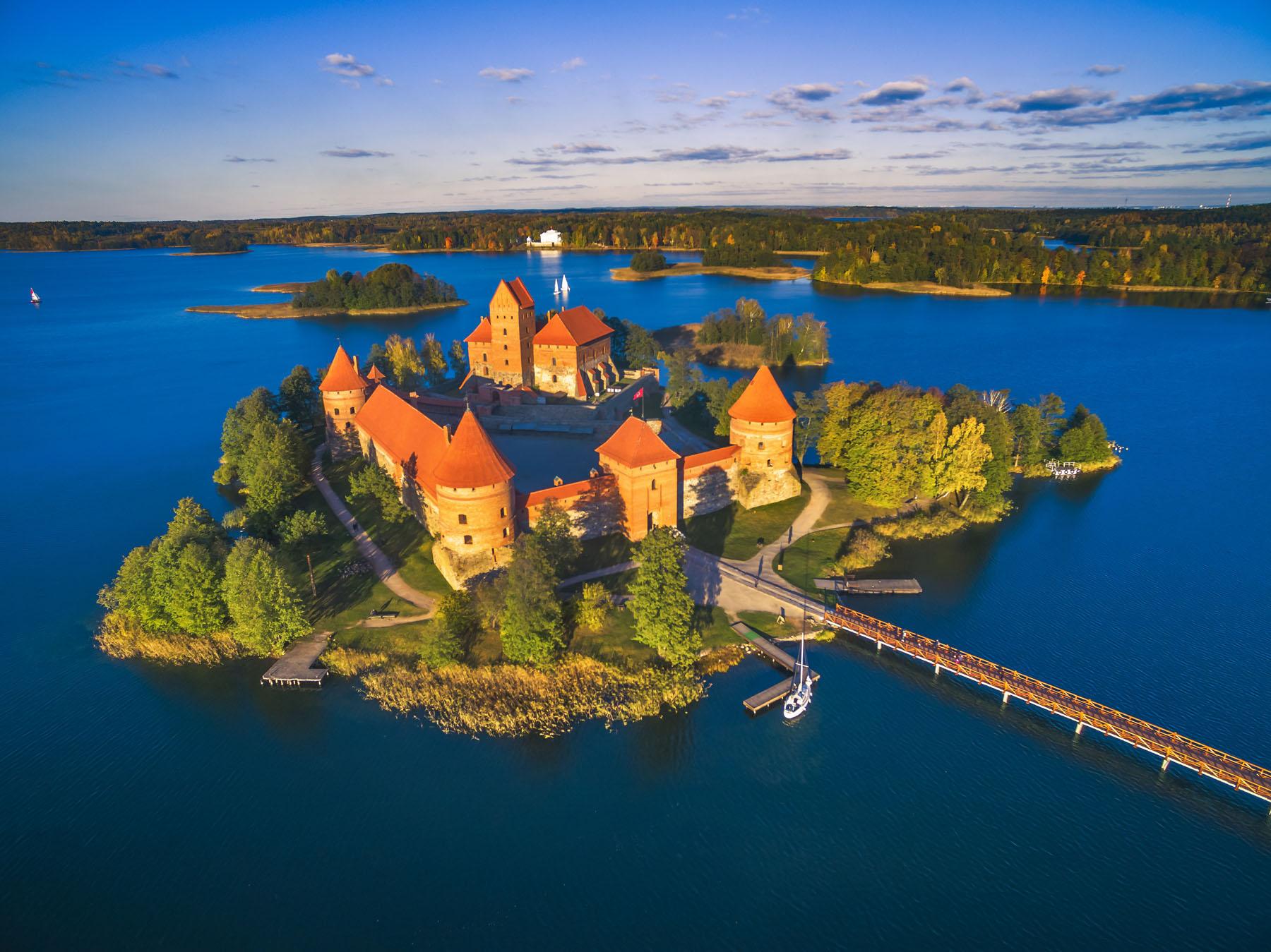 Lithuania-Trakai Castle_633994631