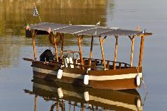 kerkini lake boat