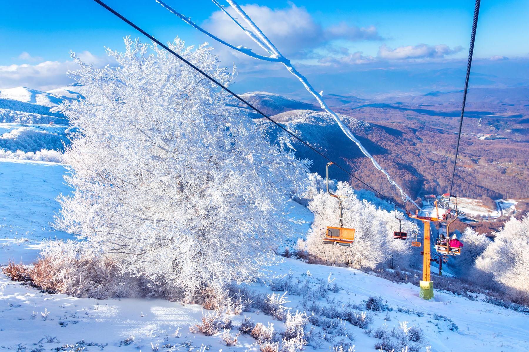 Χιονοδρομικό Κέντρο Τρία Πέντε Πηγάδια