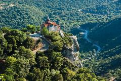 Greece_Stemnitsa-valley of river Loussios and Agios Athanassios church in Timios Prodromos Monastery_38875084